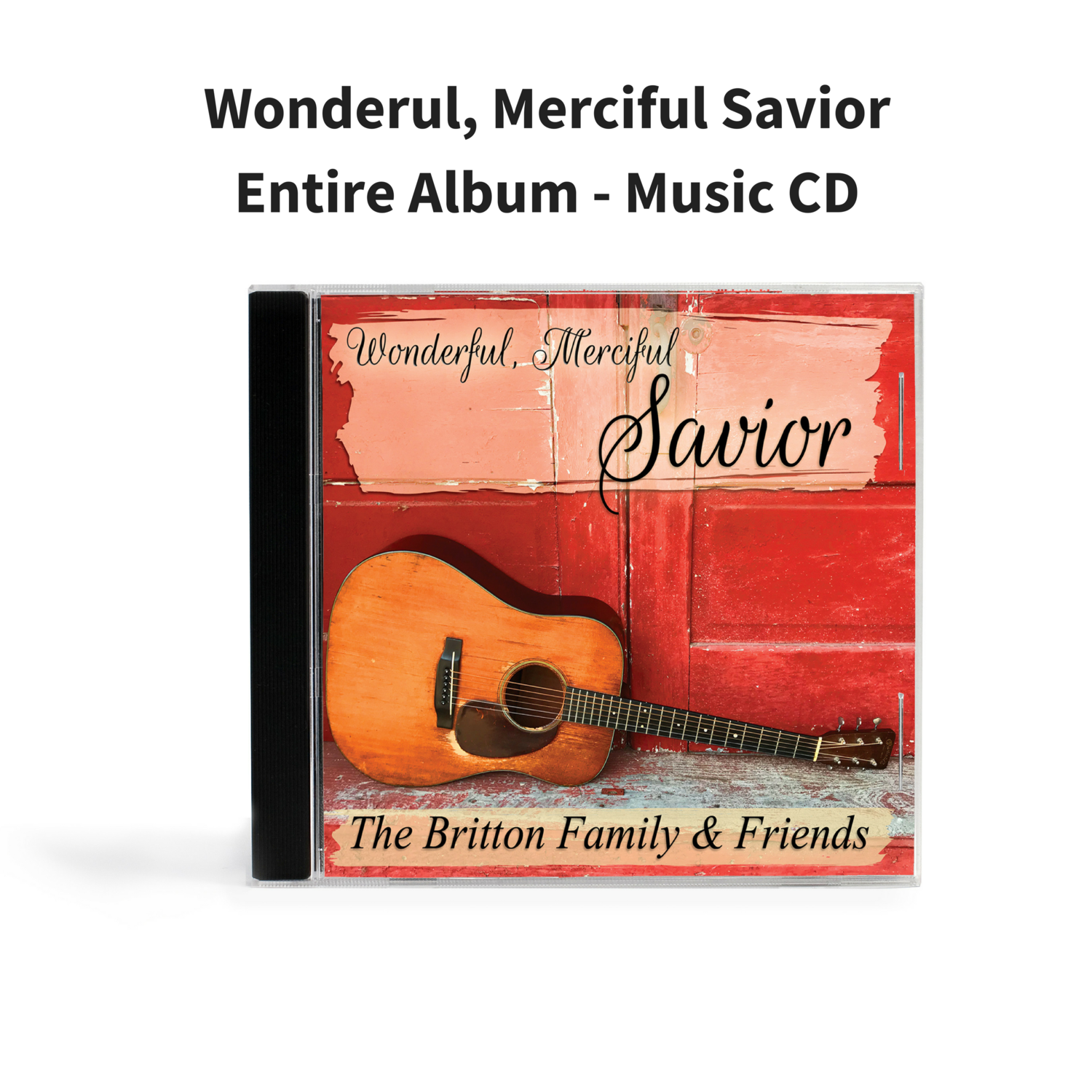 Wonderfull, Merciful Savior - Music CD