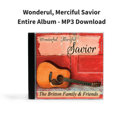 Wonderfull, Merciful Savior - Entire Album MP3 Download