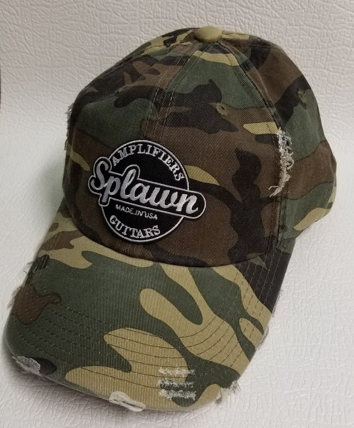 Splawn Amplification Guitars Center Logo District DT600 Distress Cap Camo