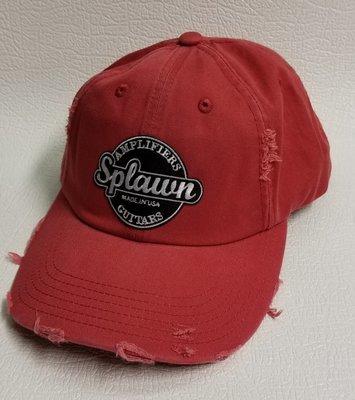 Splawn Amplification Guitars Center Logo District DT600 Distress Cap Dashing Red
