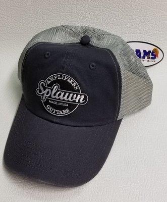 Splawn Amplification Guitars Trucker CapAdams VB101 Vibe Charcoalwith Light GreyMesh Center Logo