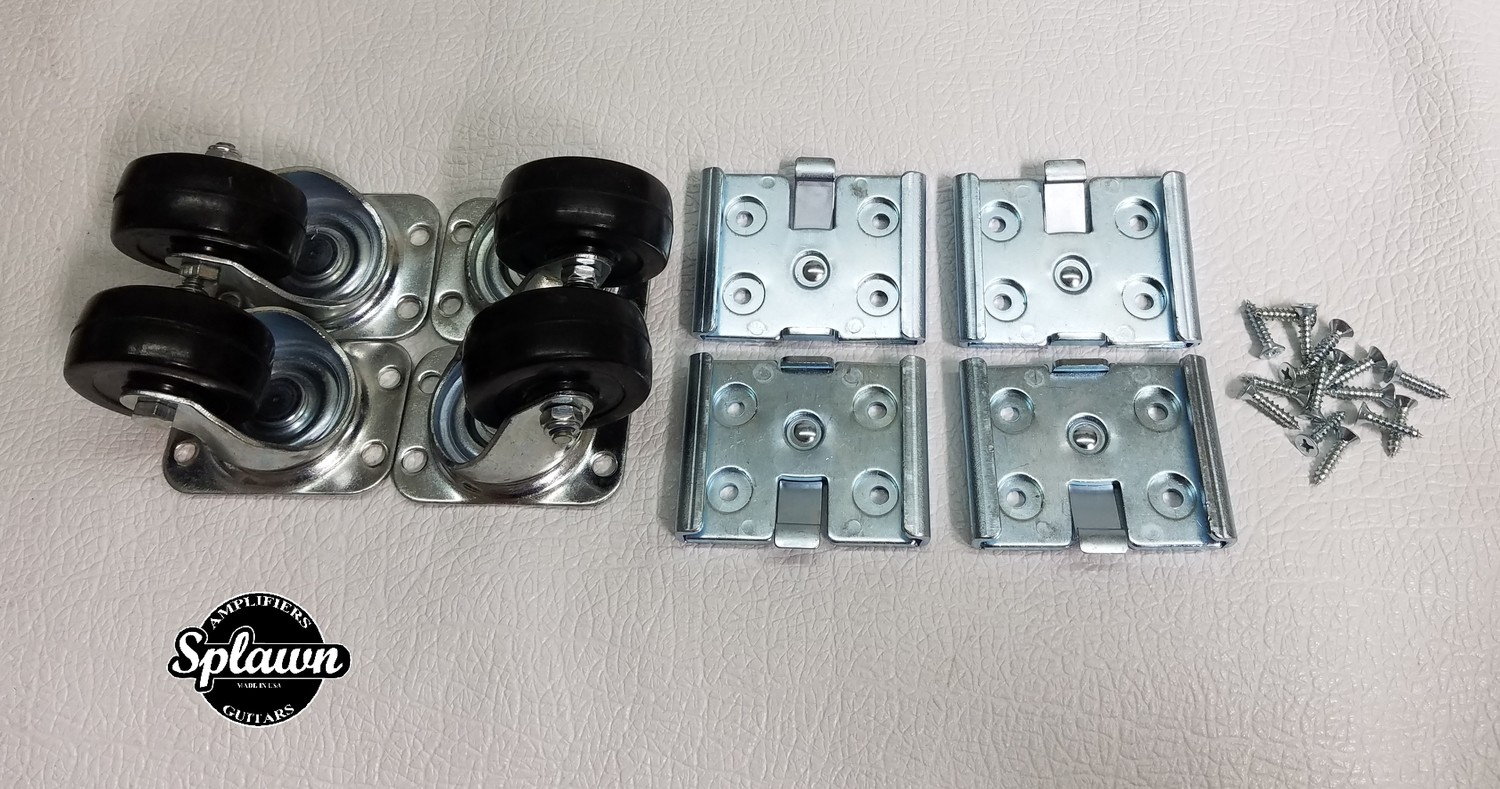 Splawn Replacement Caster Set with screws