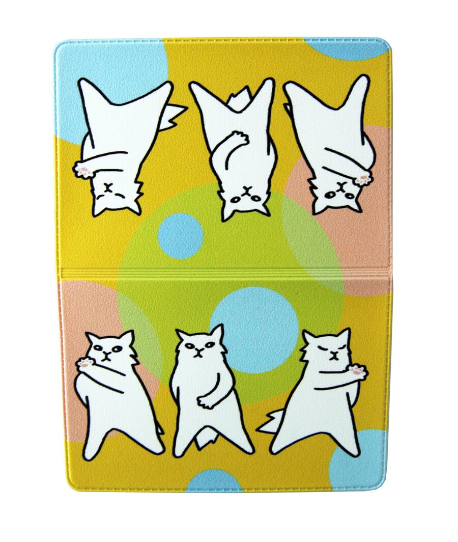 """Обложка для транспортной карты """"Три кота"""""""
