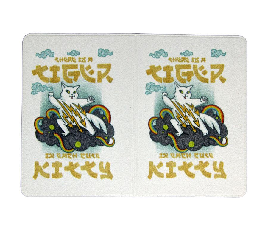 """Обложка для транспортной карты """"Tiger Kitty"""""""