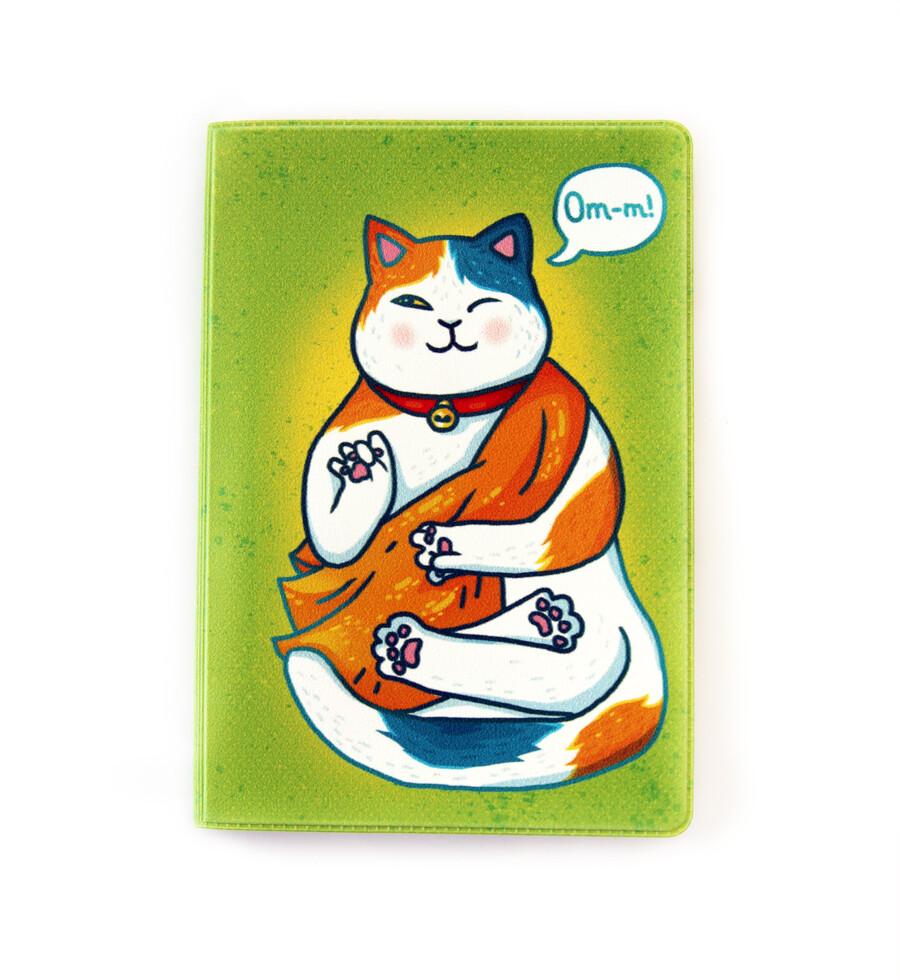 """Обложка для паспорта """"Медитация"""""""