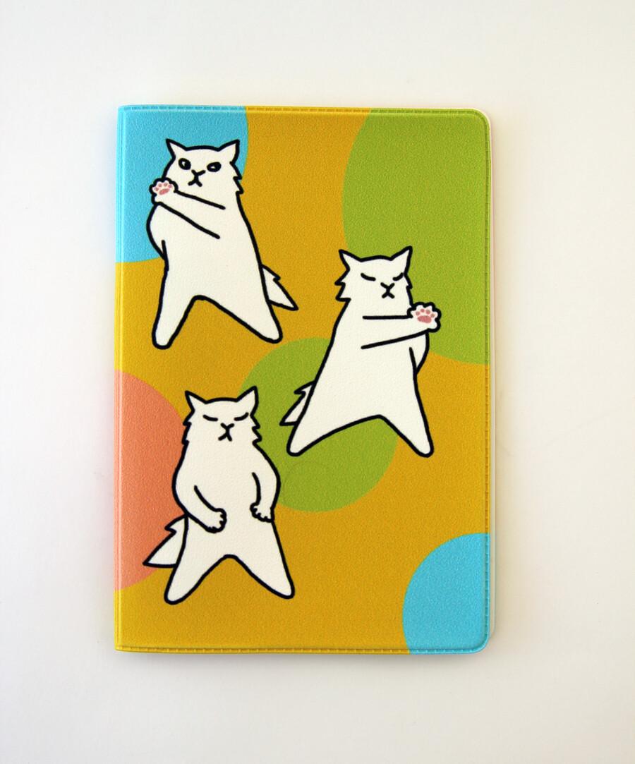 """Обложка для паспорта """"Три кота"""""""