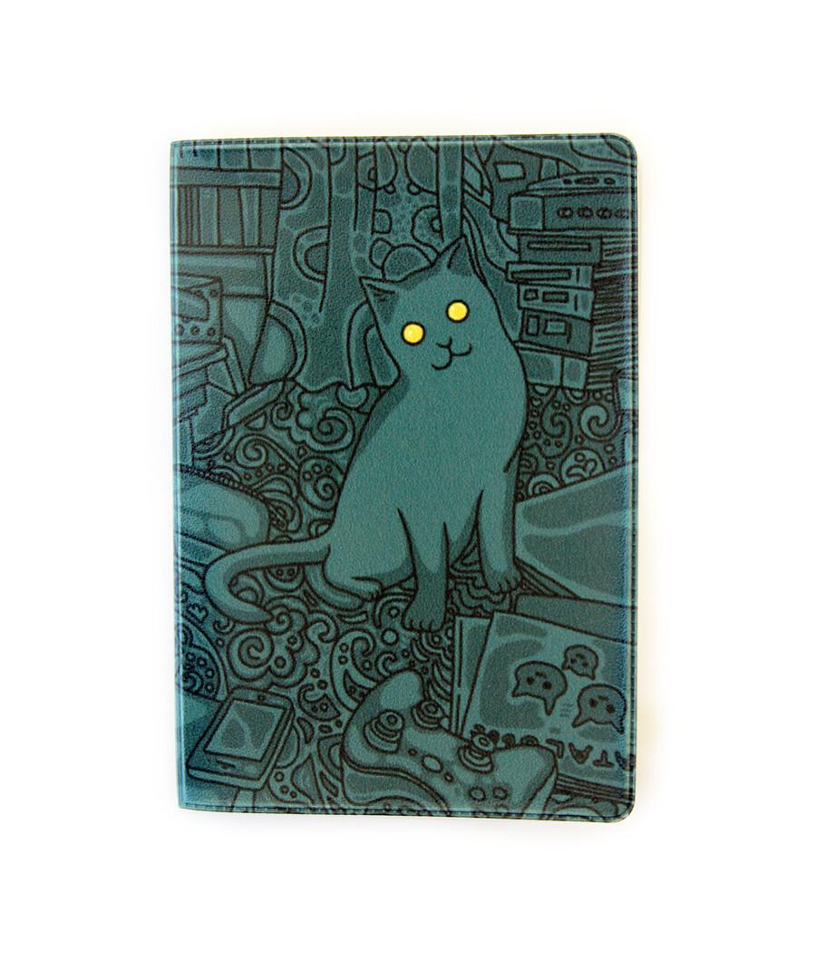 """Обложка для паспорта """"Ночь"""""""