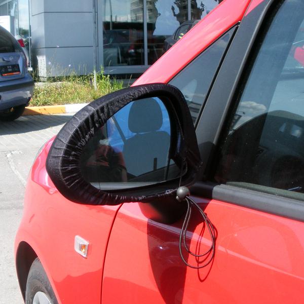 """Чехлы на боковые зеркала для автомобиля """"Котики в луже"""""""