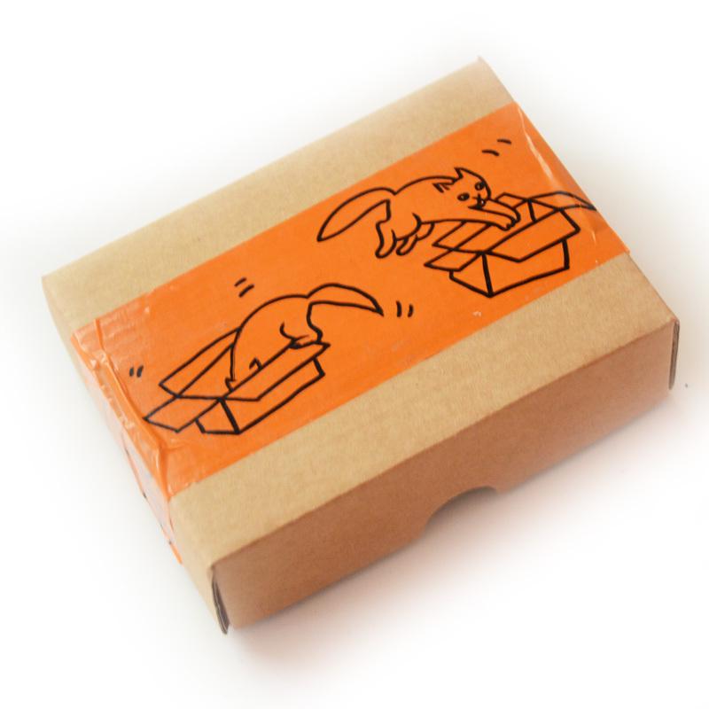 "Скотч ""Коты и коробки"""