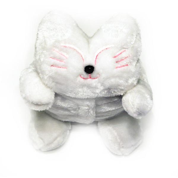"Грелка ""Белый котик"" 00735"