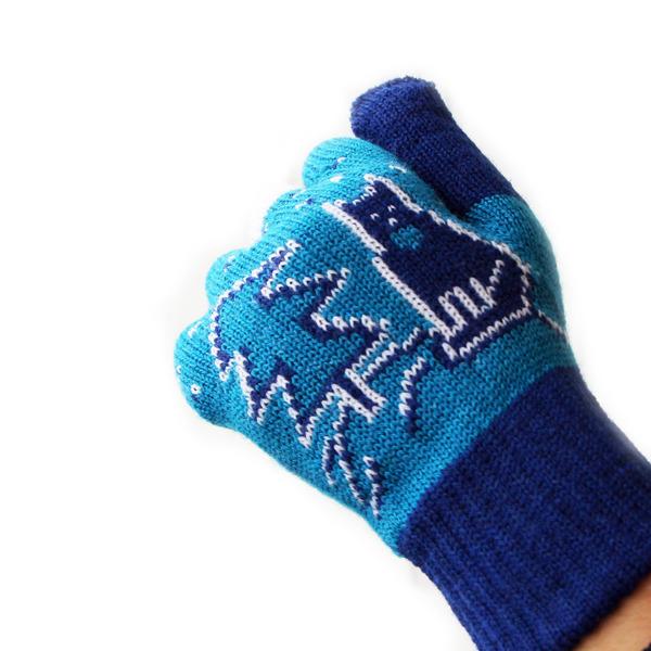 """Перчатки женские """"Зимняя сказка"""" для смартфонов"""