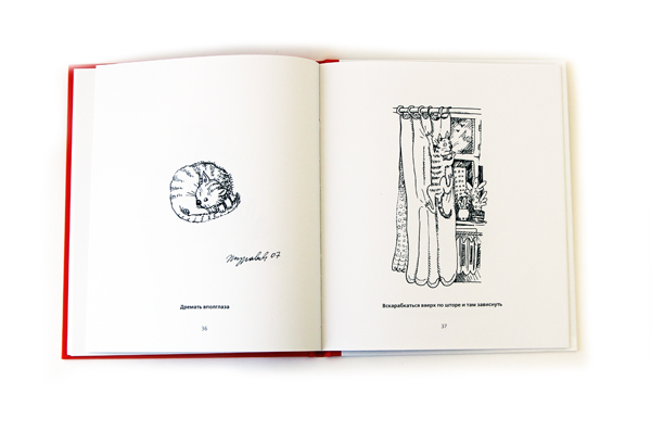 """Книга Маргариты Журавлевой """"Правила кошек"""" в твердом переплете с автографом автора"""