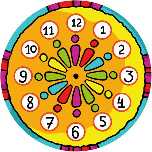 Часы на магните