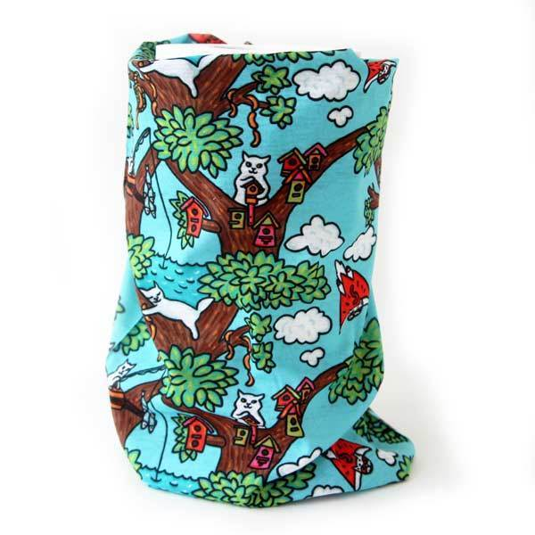 Бандана-бафф «Коты на дереве» 01084