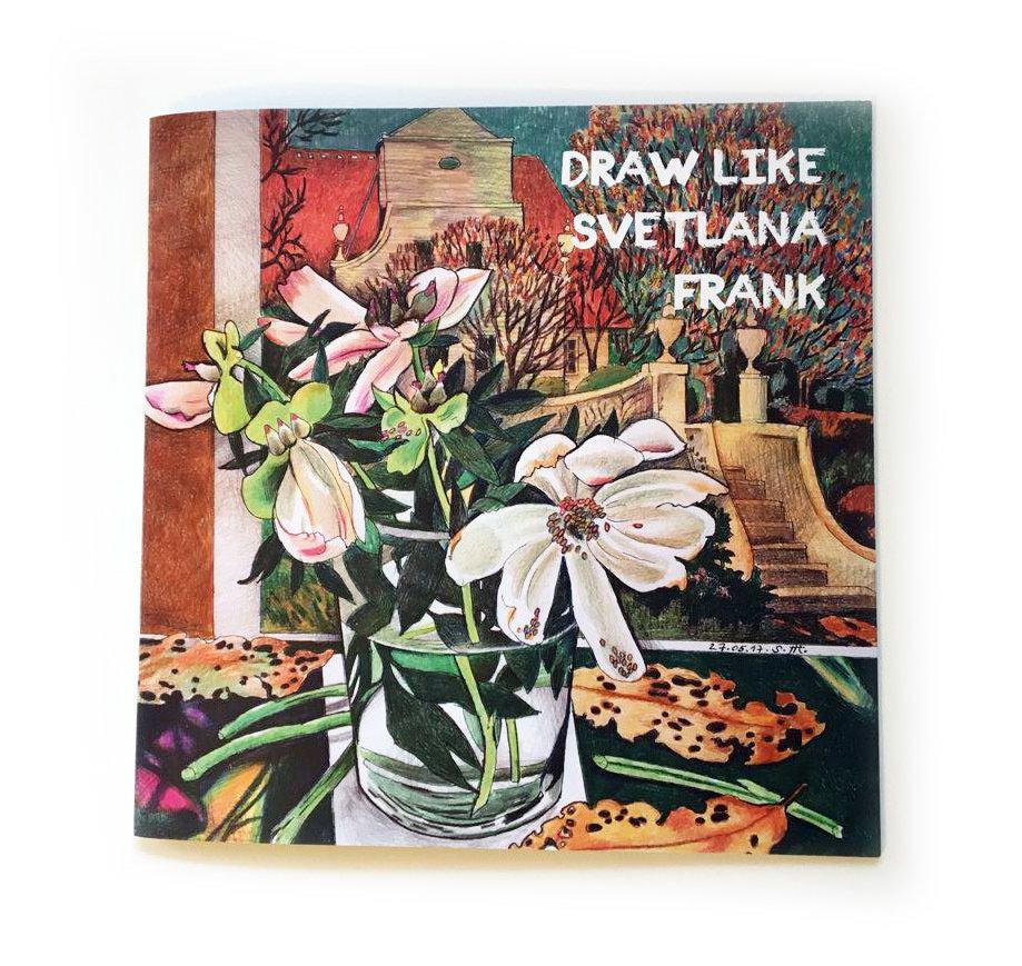 "Книга-раскраска ""Рисуй, как Светлана Франк"" 01397"