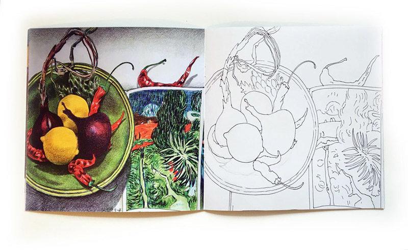 "Книга-раскраска ""Рисуй, как Светлана Франк"""