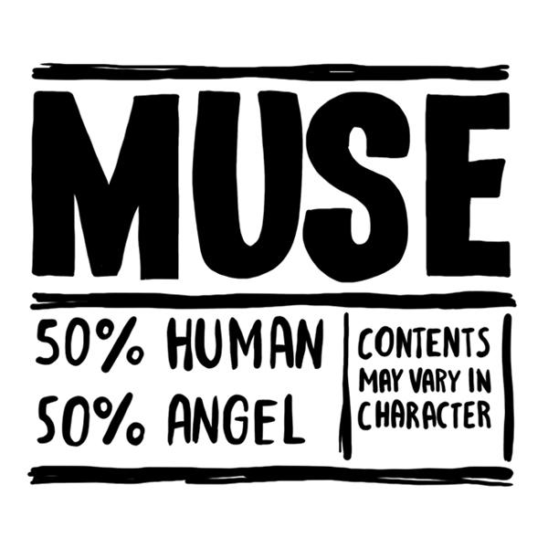 Временное тату Muse inside (2 штуки в наборе) 00608