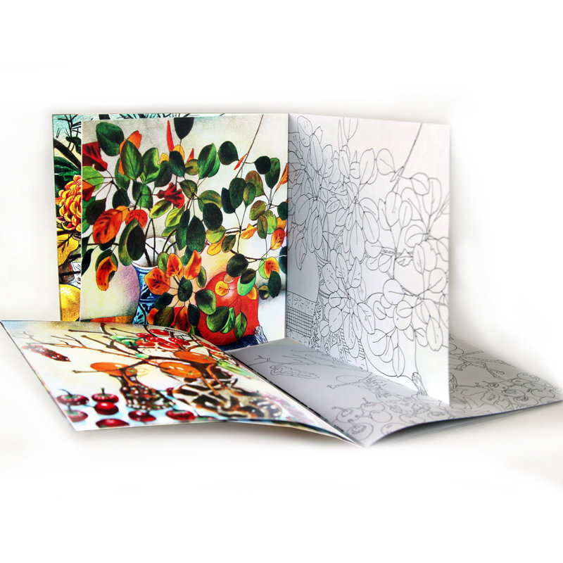 "Книга-раскраска ""Рисуй, как Светлана Франк"" (том 2)"