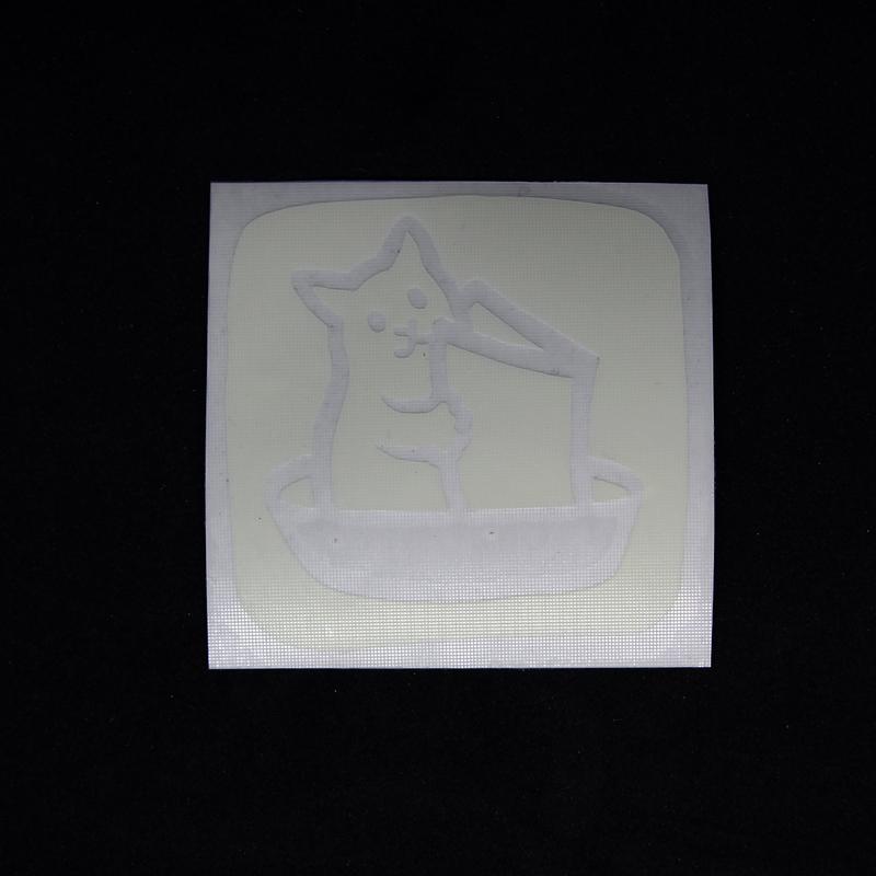 Набор светящихся наклеек на выключатели (5 штук)