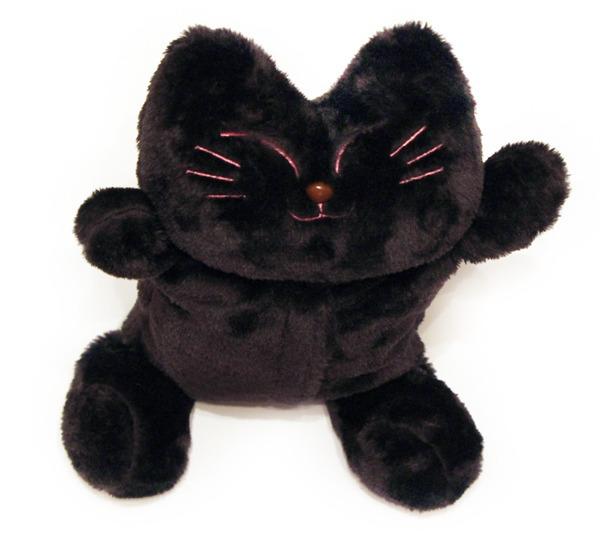 """Грелка """"Черный котик"""" 00736"""