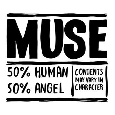 Временное тату Muse inside (2 штуки в наборе)