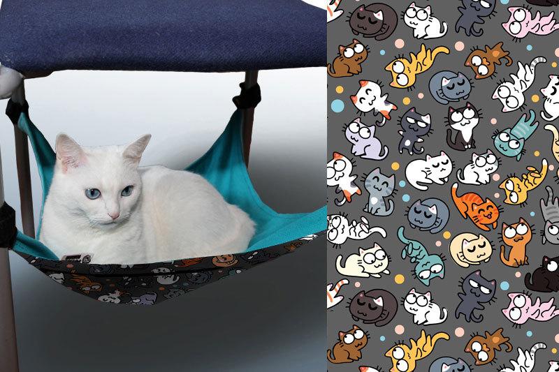 Гамак для кошек на ножки стула для котиков 01374
