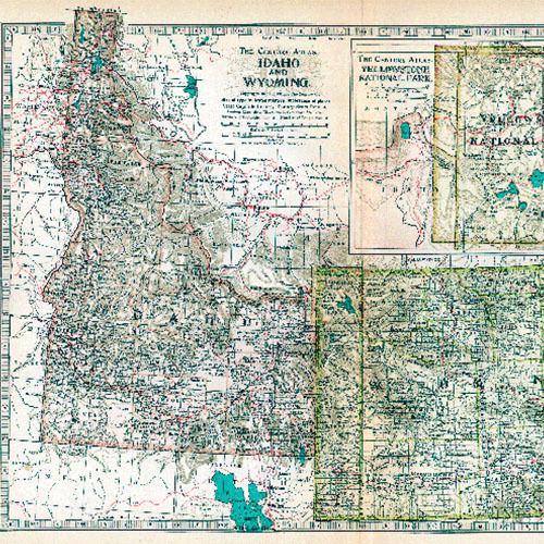 Historic Map Libraries - Western United States 1911