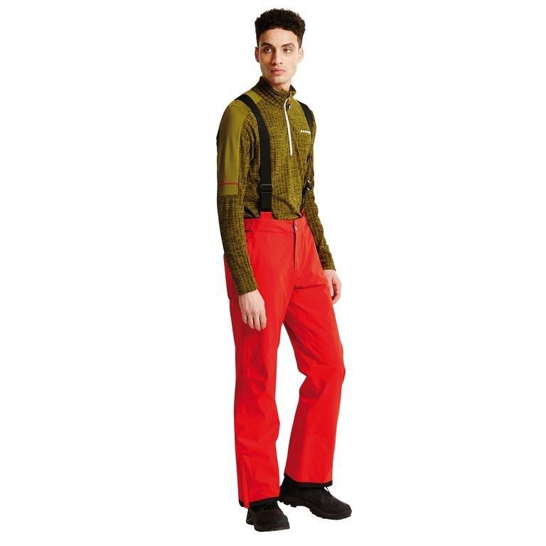 Dare 2b Men's Certify II Ski Pants Red DAR-1009