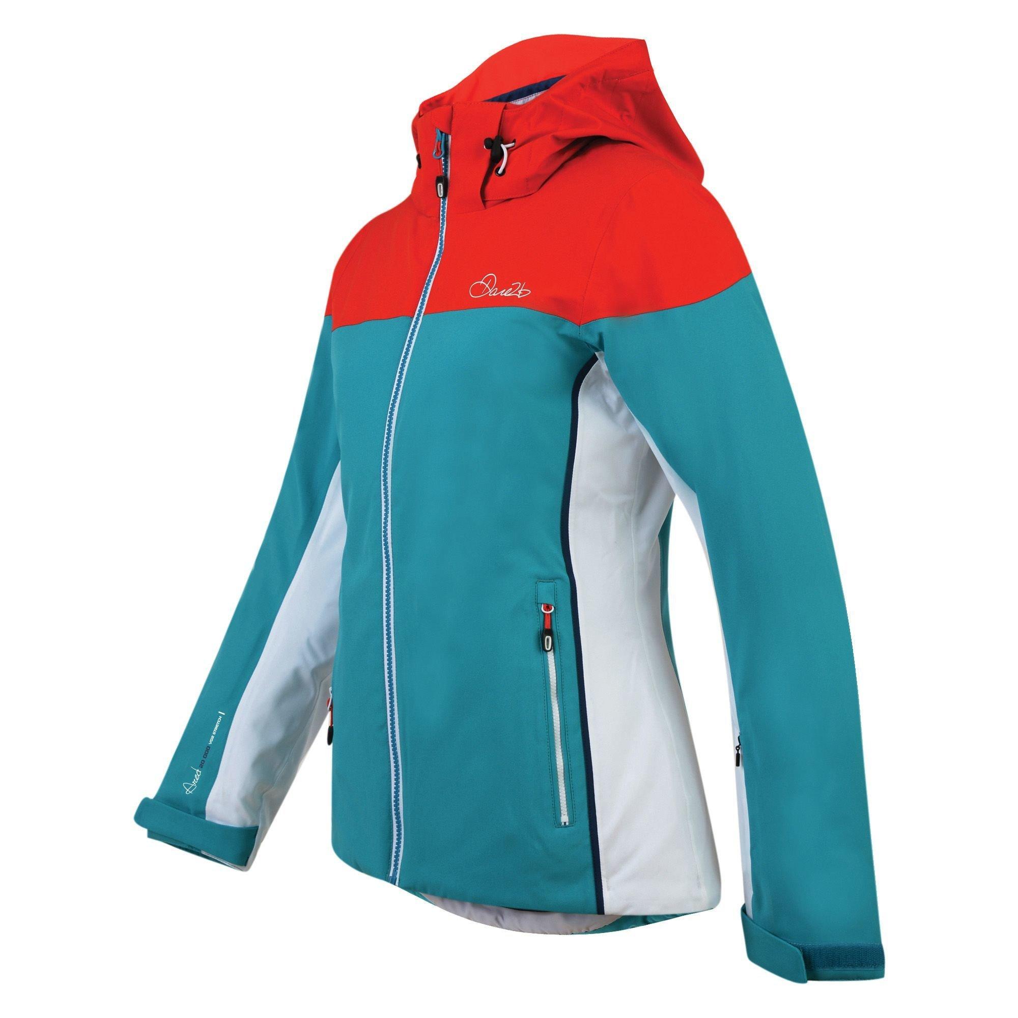 Dare 2b Women's Invoke II Ski Jacket Sea DAR-1044