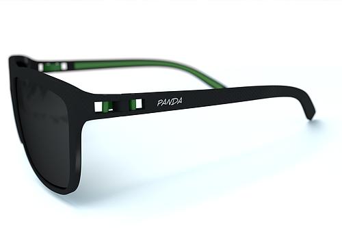 Panda Sunglasses Cove Black PAN-1001