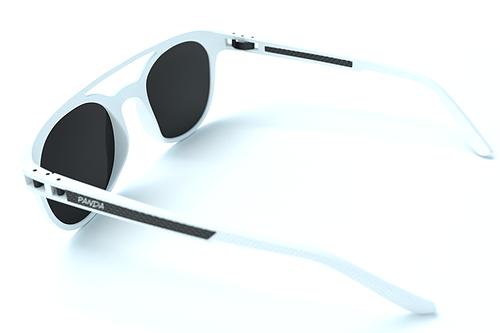 Panda Sunglasses Tide White