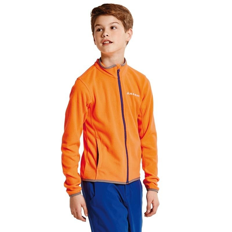 Dare 2b Favour Children's Full Zip Fleece Orange
