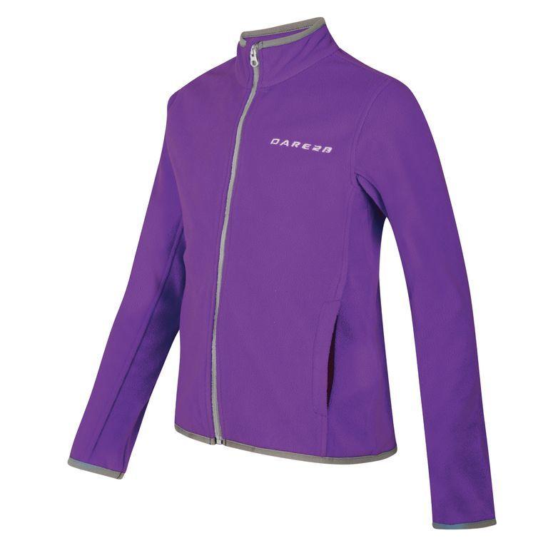 Dare 2b Favour Children's Full Zip Fleece Purple DAR-1023