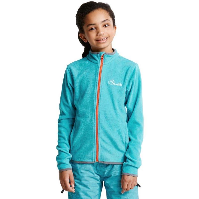 Dare 2b Favour II Children's Full Zip Fleece Aqua DAR-1024