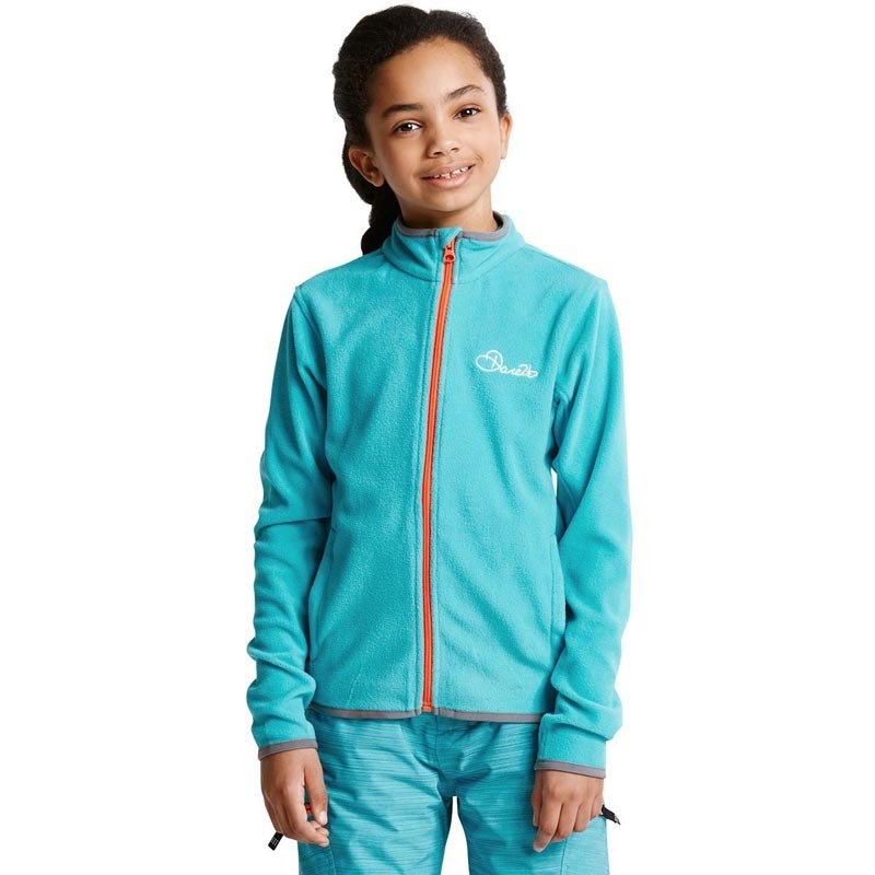Dare 2b Favour II Children's Full Zip Fleece Aqua