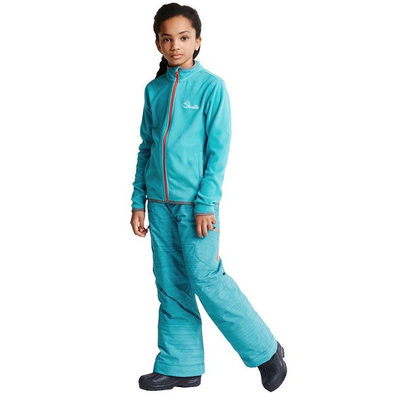 Dare 2b Favour II Children's Full Zip Fleece Aqua