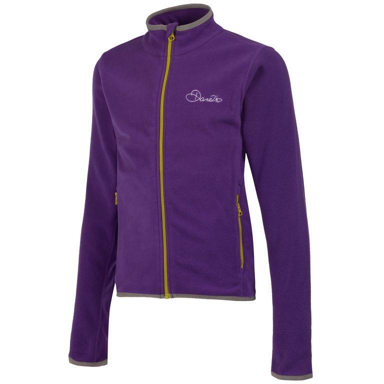Dare 2b Favour II Children's Full Zip Fleece Purple DAR-1027