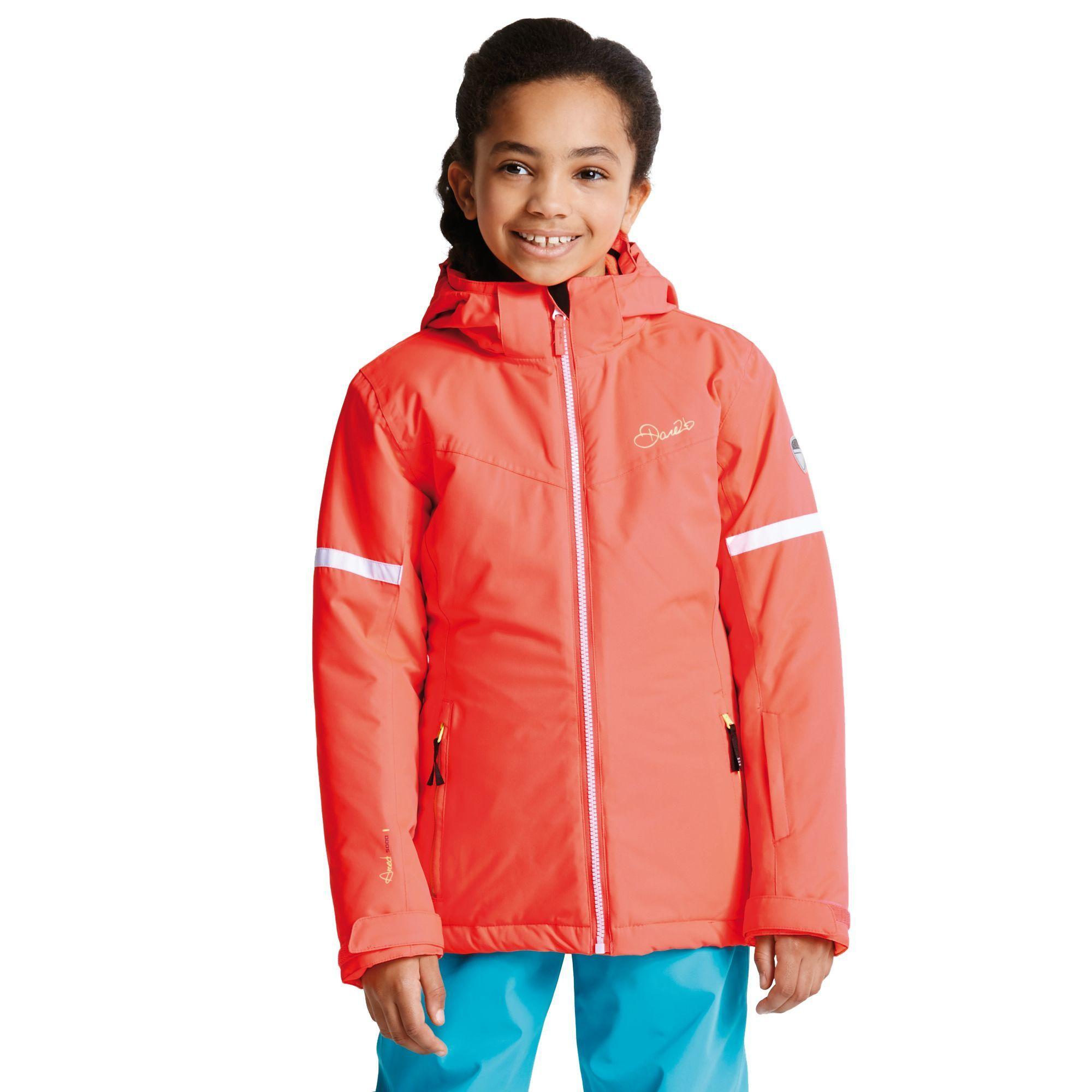 Dare 2b Kids Obscure Jacket Fiery Coral DAR-1055