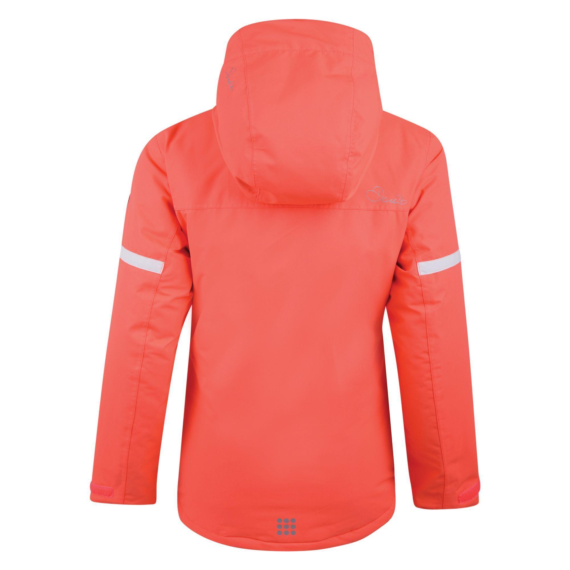 Dare 2b Kids Obscure Jacket Fiery Coral