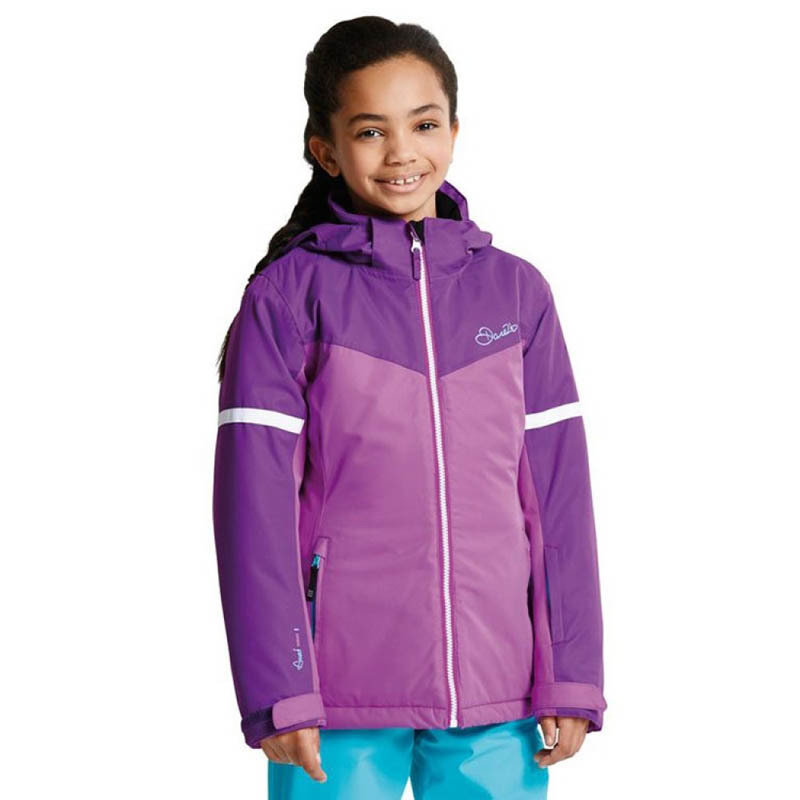 Dare 2b Kids Obscure Jacket Ultra Violet/Elec Purple