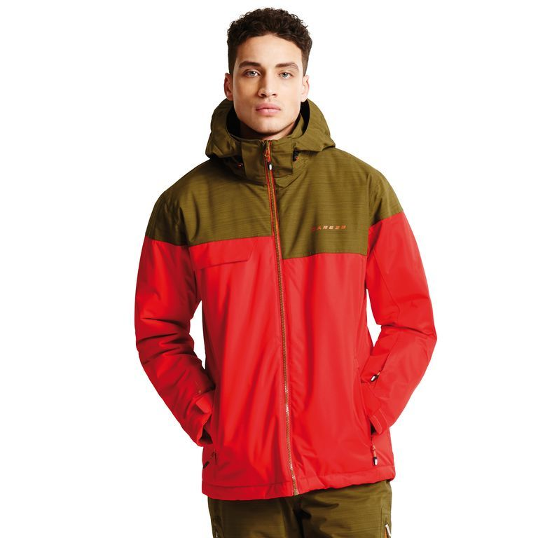 Dare 2b Men's Requisite II Ski Jacket Seville/Camo DAR-1067