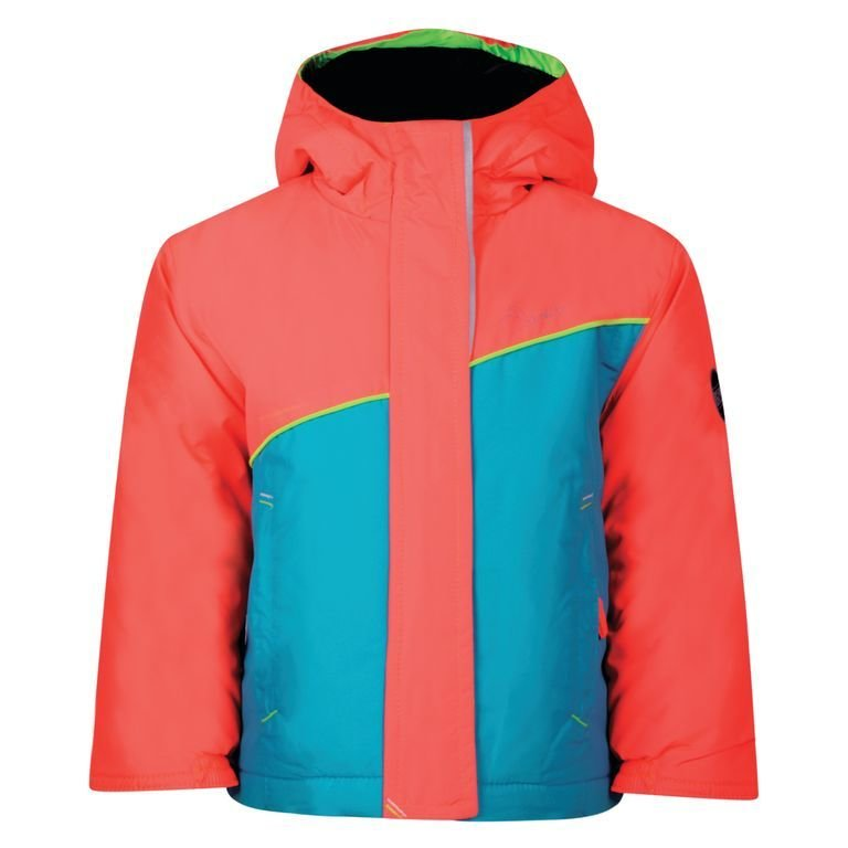 Dare 2b Set About Junior Ski Jacket Aqua/Coral