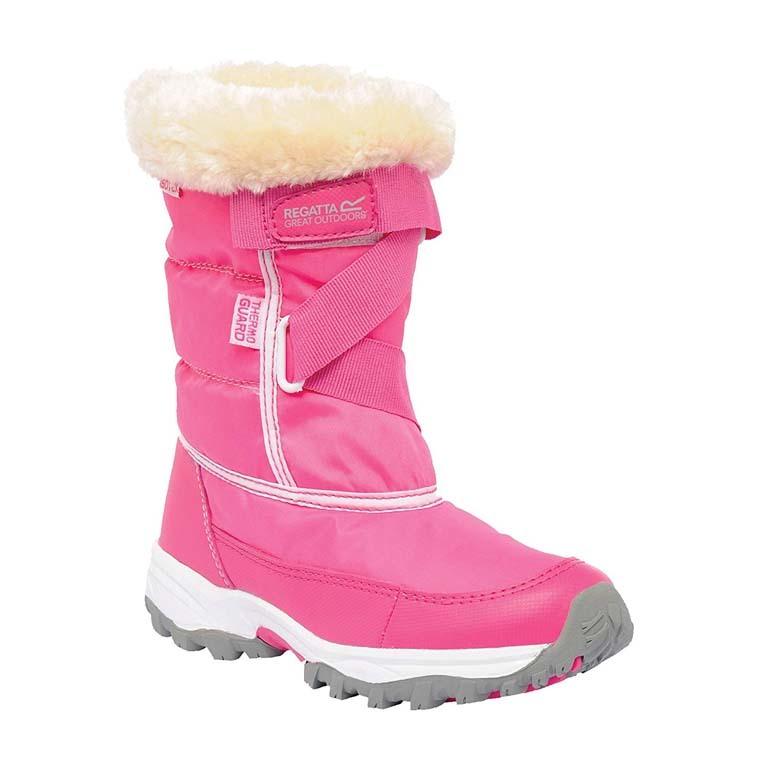 Regatta Snowcadet II Snowboots Junior Pink DAR-1079