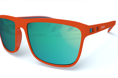 Panda Sunglasses Cove orange