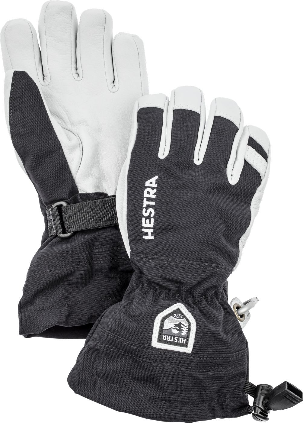 Hestra Army Heli Ski Jr black HES-1036