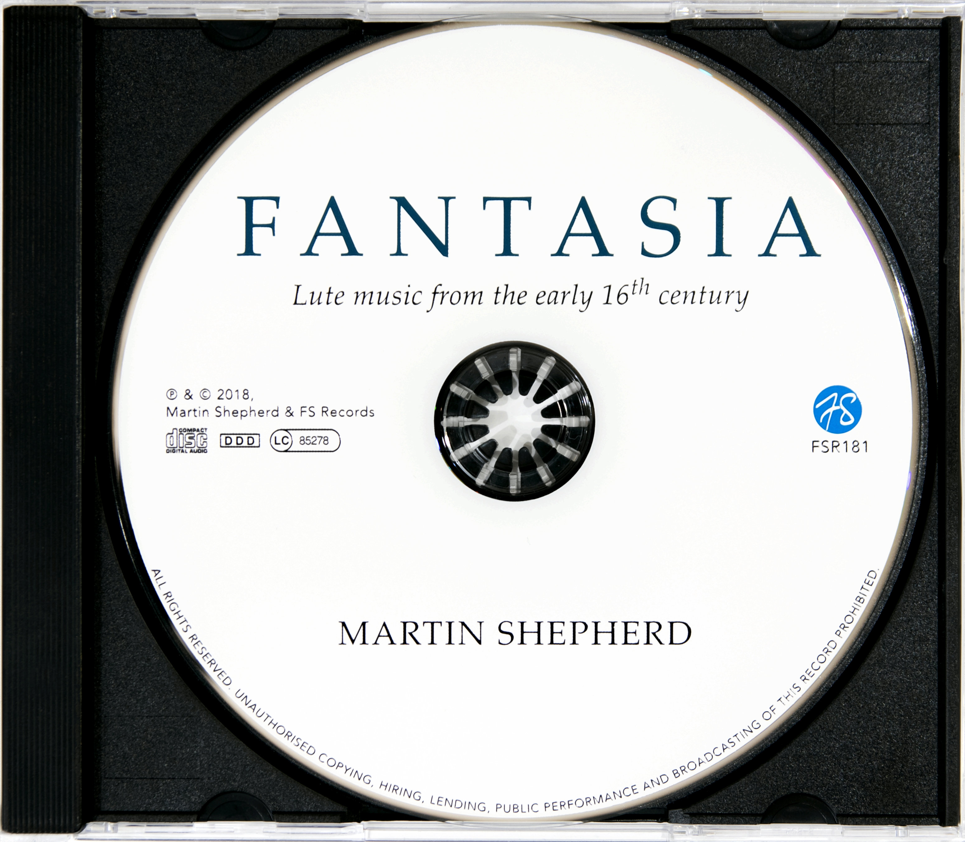 Fantasia: Lute music from the early 16th century
