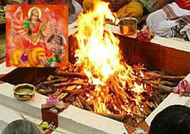 Chandi Homam at Temple