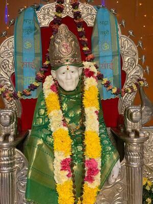 Abhishekam for Baba
