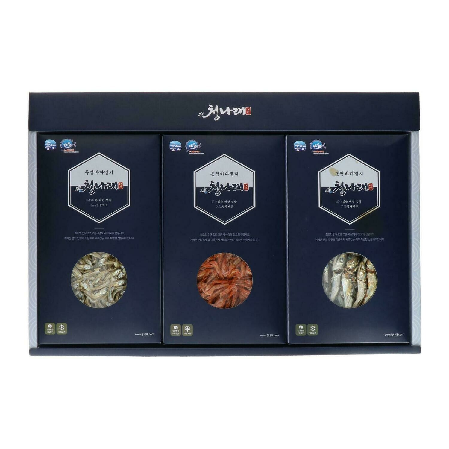 Dried Anchovy & Shrimp Gift SET