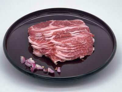 Pork Collar Shabu Shabu